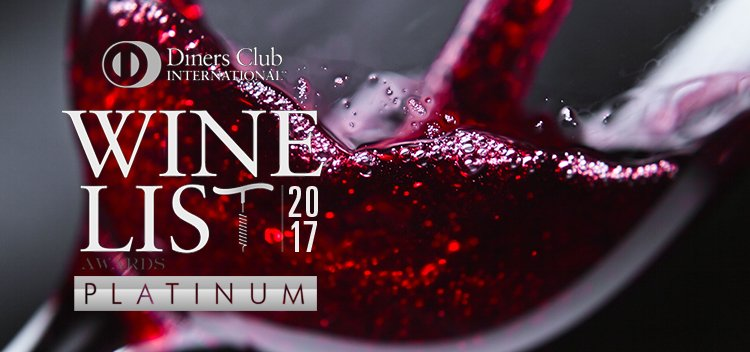 Diners Club Winelist Awards 2017